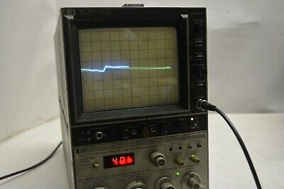 HP 8558B OPT Spectrum Analyzer w/182C Display