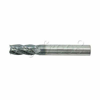 45 degree 4 Flute End Numerical Control Milling Cutter D8x40x150mm