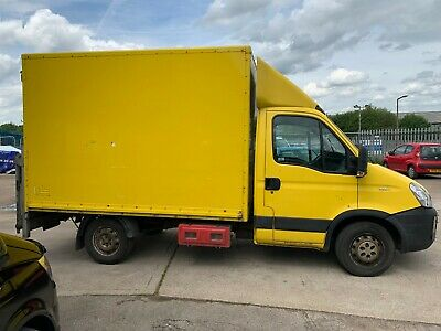 Iveco Daily 35S11, 2010 60 Reg, 10ft 6in Box Body Van, Man Gearbox, MOT Sept 19