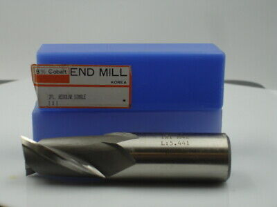 YG-1 1 X 1 OAL 4 1/8 SE 2Flt M42 Endmill(1pc)New 1388