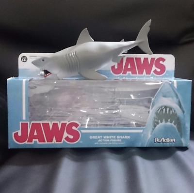 Jaws : Great White Shark with Air Tank ReAction figure 2015 From Japan Free Ship