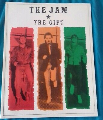 The Jam The Gift Music Book