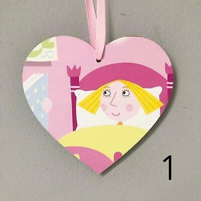 Ben and Holly's Little Kingdom Handmade Wooden Heart Plaque Decoration Gift