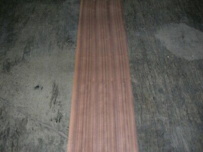 Walnut Wood Veneer. 5 x 85, 3 Sheets.