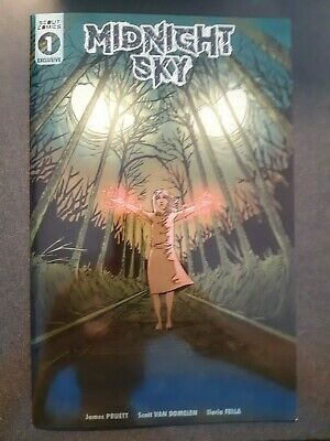 MIDNIGHT SKY #1 Rare Retailer Exclusive Variant Scout Comics NM First Print