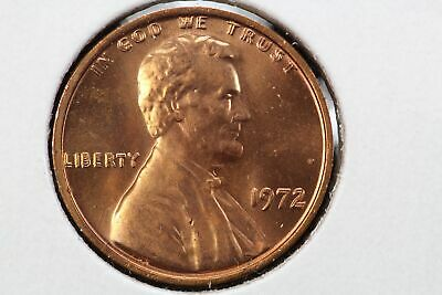 Double Die Obverse 1972 Lincoln Memorial Cent Red Cherrypickers FS-101