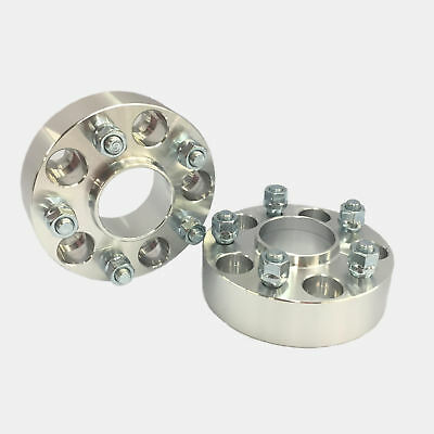 2pc Hub Centric Wheel Adapters Spacers 5x110 to 5x100 12X1.5 ¦ 20MM NEAR 13//16/""