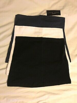 New Look Maternity Bump Bands M/L x 3 - New With Tags