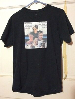 Stand By Me 1980s Comedy Film T Shirt River Phoenix Med  Goonies Princess Bride