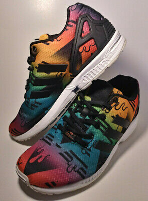 newest collection 9b434 2a773 ADIDAS ORIGINALS TORSION ZX FLUX 40 S75495 Men's SZ: 8.5 Multi-Color