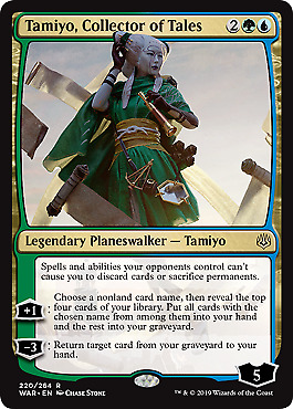 Tamiyo, Collector of Tales (Foil Pre-release Vers.)