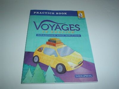 VOYAGES IN ENGLISH Practice Book Workbook Grammar and Writing Grade 3  Paperback