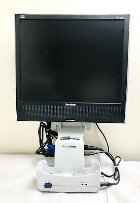 Welch Allyn Propaq Lt Monitor Large Colour Interface + Dock + Mains Charger