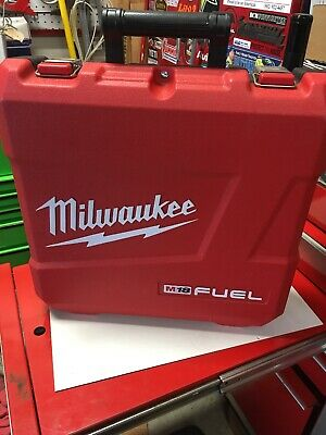 """Empty Case + manuals  - Milwaukee 2704-22 M18 Fuel 1/2"""" Hammer Drill/Driver Kit"""
