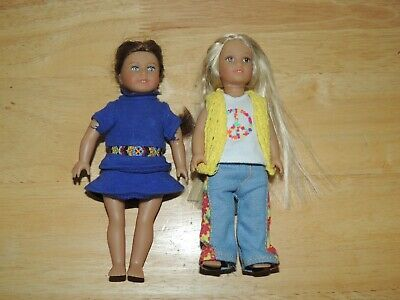 American Girl Mini Doll Lot of two Julie and Saige!