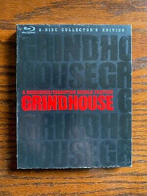Grindhouse Blu-ray Disc, 2007, 2-Disc Set, Special Edition Quentin Tarantino NEW