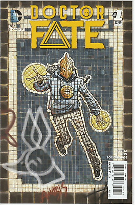 (2015) Doctor Fate # 1! 1St Appearance Of Khalid Nassour! Movie?