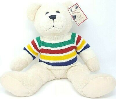 HBC Hudson's bay Company 2003 annual Charity Bear With Tags