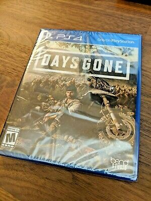 Days Gone (2019, Playstation 4) PS4 Region Free Open World - NEW / SEALED