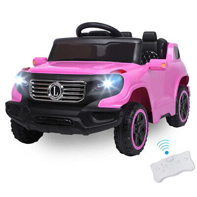 Safety Kids Ride on Car Toys 6V Battery Power Wheels Music Light Remote Control