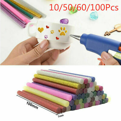 10/50/60/100pcs Hot Melt Electric Glue Gun Sticks for DIY Art Craft Repair