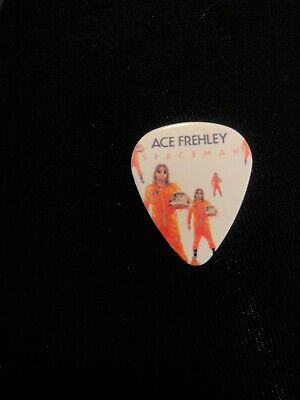 KISS Ace Frehley Guitar Pick NJ 2018 Expo Signed I Was There Spaceman 12/8 Rare