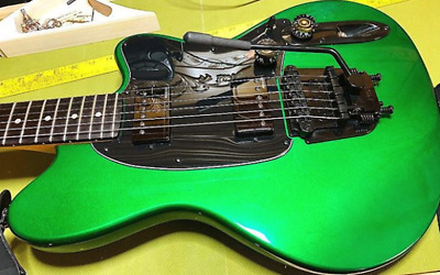 Stetsbar BoltOn Tremolo Pro II Hard Tail BLACK - Fits Ibanez Squier more guitars