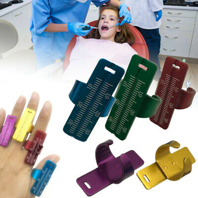 1pc Dental Ring Ruler Dentist Instrument Ruler Dental Finger Ring Measuring Tool