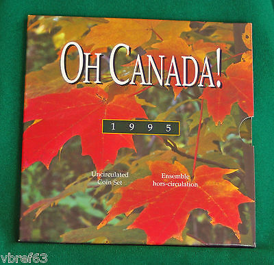 1995 Canada Oh Canada set - 6 perfect coins in original packaging A1 coins!