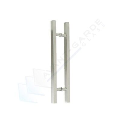 Front Door Handle Entrance Pull 600 Satin Modern External Entry Stainless Steel