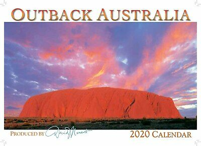 2020 Wall Calendar - Outback Australia by David Messent Photography