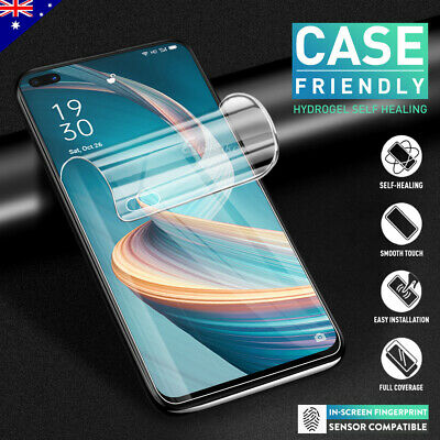 For OPPO Reno 10x Zoom 5G HYDROGEL AQUA FLEXIBLE Crystal Screen Protector
