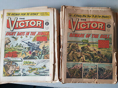 VICTOR COMIC No. 411-462 from 1969 - FULL YEAR!!