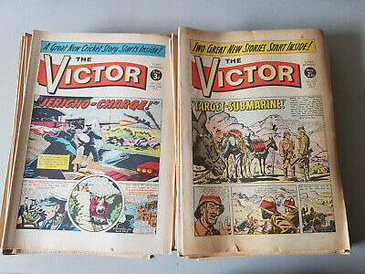 VICTOR COMIC No. 567-619 from 1972 - FULL YEAR!!