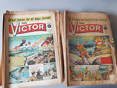 VICTOR COMIC No. 254-306 from 1966 - FULL YEAR!!