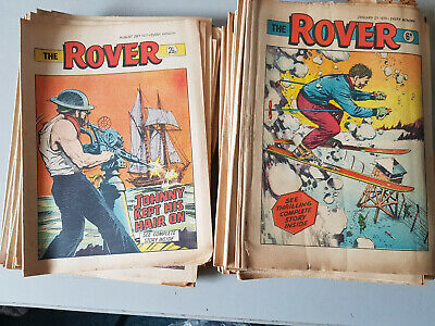 ROVER COMIC 52 issues from 1971 - FULL YEAR!!