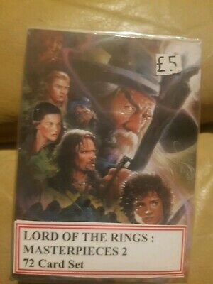 Topps Lord of the Rings Masterpieces Series 2 Trading Card Base Set