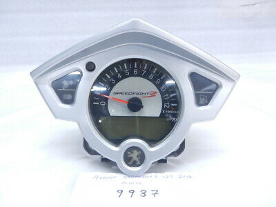 Peugeot Speedfight 3 125 2014 Clocks   (9937)