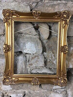 """Gilt Picture Frame Rococo Baroque Style To Fit 12x10"""" Painting Picture Mirror"""