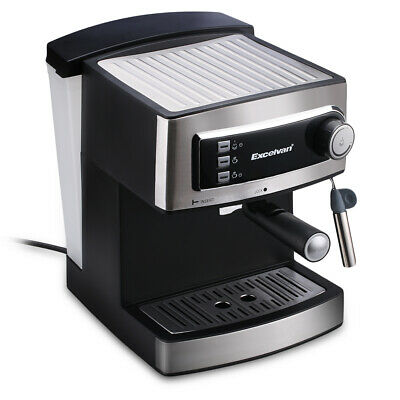 Excelvan Coffee Machine Bean To Cup Hot Drink Maker Espresso Italian Style Home