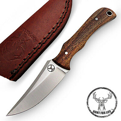 Hunt For Life™ Boarhound Stainless Steel Full Tang Skinning Knife