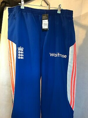 443f587cd1832 Adidas ECB England Cricket 2014 Training Pants BNWT Size 42R Brand New With  Tags