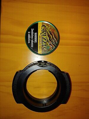 GRIZZLY WINTERGREEN TROUT CAN with FLY FISHING REEL CAN