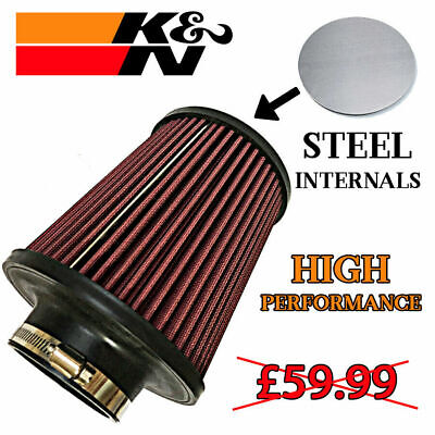 UNIVERSAL AIR FILTER LARGE 51mm - 60mm ID High performance induction kit