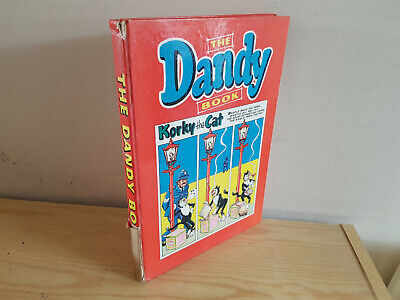 THE DANDY BOOK 1962 vintage comic annual - reasonable condition