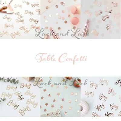 Table Confetti Party decoration Partyware