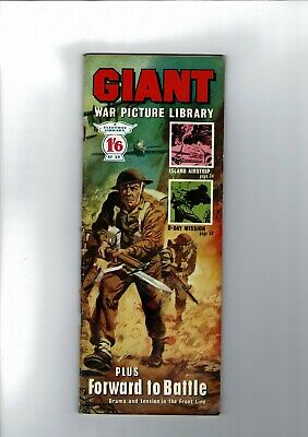 GIANT WAR PICTURE LIBRARY No. 29 from 1964  1'6 Fleetway Library
