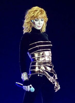 photo 10*15cm 4x6 INCH MYLENE FARMER (1184)