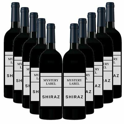 New Mystery Label Shiraz 12 Pack