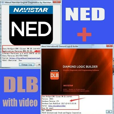 navistar ned international engine diagnostics+diamond logic  builder+installation